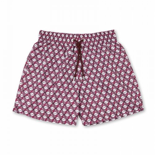 Swim Shorts - Cordes - Dark Red